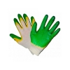 Перчатки ( 23) желт/зелен  2-ой облив.  , шт.