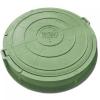 Люк полимерно - композитный (зеленый) легкий  760/90 мм    (высокий), шт.