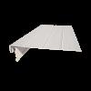 Карнизная доска + J NS    3050мм - White , шт.