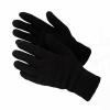 Перчатки ( 40) черные двойные, шт.